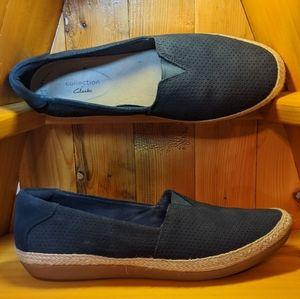 Clarks Women's Danelly Sky Boat Shoes SZ 7 1/2